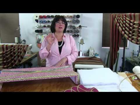 Kim's Upholstery Live Episode 31 Cornice Board
