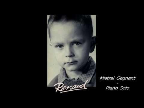 Renaud - Mistral Gagnant - Piano Cover (Adaptation Aline Sans)