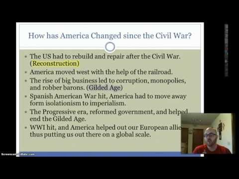 US History In 15 Minutes: Reconstruction-Present