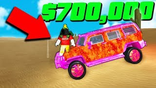 MAXED SLOWEST CAR vs BEST CAR RACE in VEHICLE SIMULATOR! (Roblox)