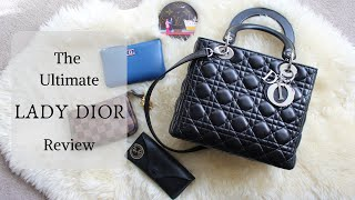 The Lady Dior Bag Review Everything You Need To Know Comparison To Birkin 25