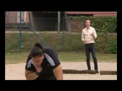 Jacko Gill Training in France Before Youth Olympics on TV One News