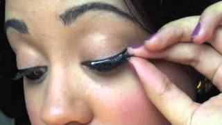 How To:  Apply False Eyelashes | EASIEST Tutorial