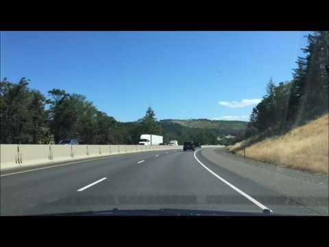 San Francisco to Seattle: Road Trip Time Lapse