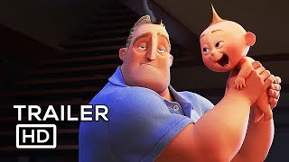 THE INCREDIBLES 2 Official Trailer (2018) Samuel L. Jackson Disney Animated Movie HD