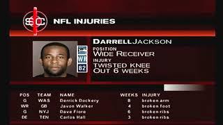 Week #5 | Sportscenter Recap | ESPN NFL 2K5 Kansas City Chiefs Franchise Playthough