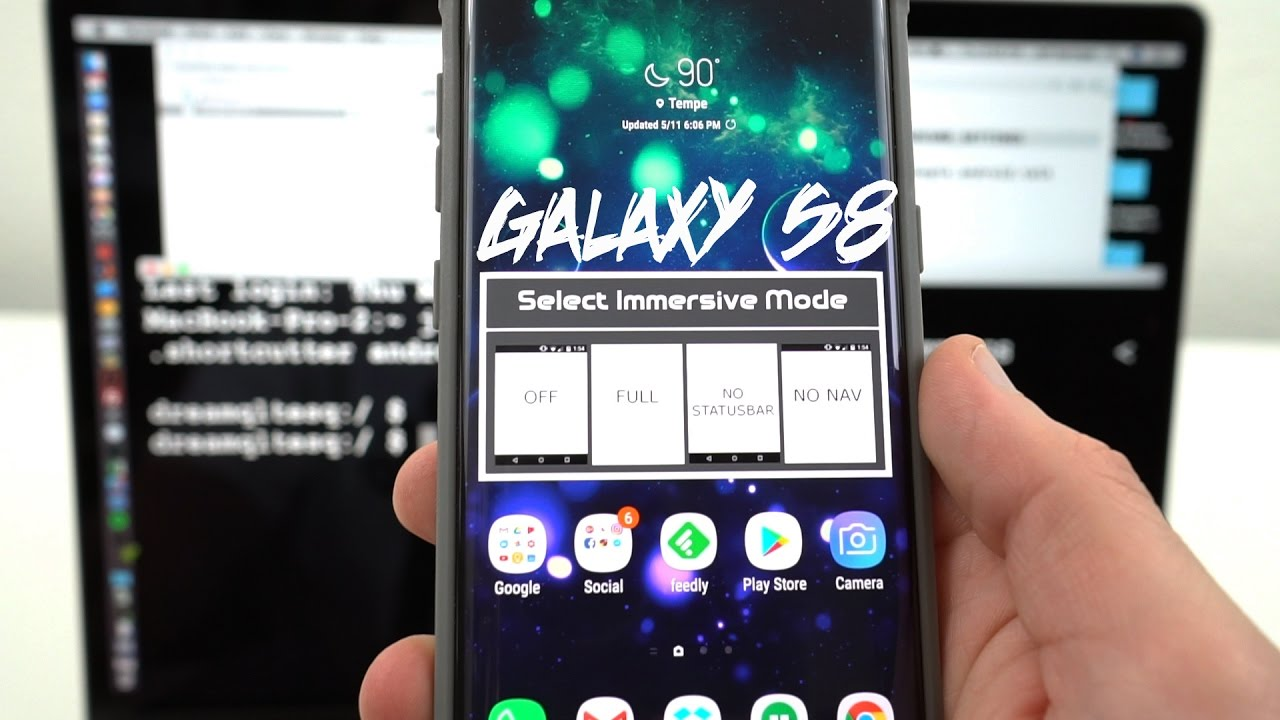 Galaxy S8 Immersive Mode Tutorial: Get More Screen Real Estate!