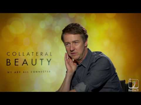 Ed Norton sits down with Tony Anderson to discuss Collateral Beauty