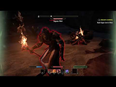 The Elder Scrolls Online - Innocent Sqoundrel: Goblin Mine: Dogeather Butchers & Witches Loot (2015)