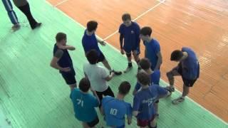 Городские соревнования, волейбол Школа №19, Иркутск  04.02.16 1-я партия