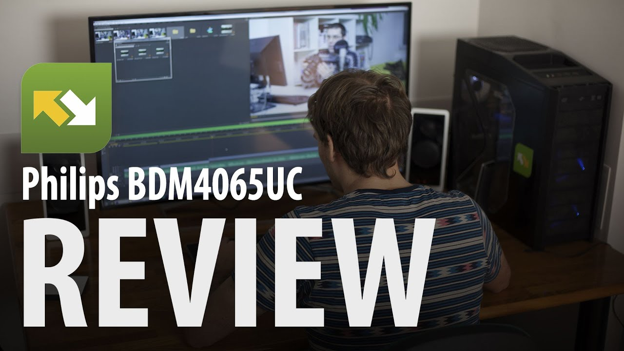 Philips 40 Inch Uhd Monitor Bdm4065uc Review Youtube
