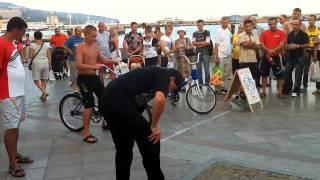 Ялта-2010. Пьяный велосипед(Конкурс