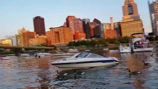 On the river in Pittsburgh- Billy Joel, Kenny Chesney, 4th of July weekend!
