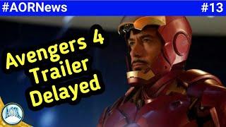 Avengers 4 trailer delayed,  <br />Marvel new SuperHero movie, killmonger origin comic book || AORNews13