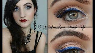 Perchè ero sparita da YouTube? + Tutorial Electric Blue Eyeliner & Dark Lips Make up Thumbnail