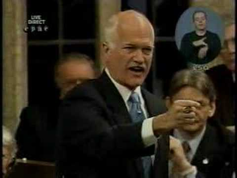 ND Leader Jack Layton on Native Poverty