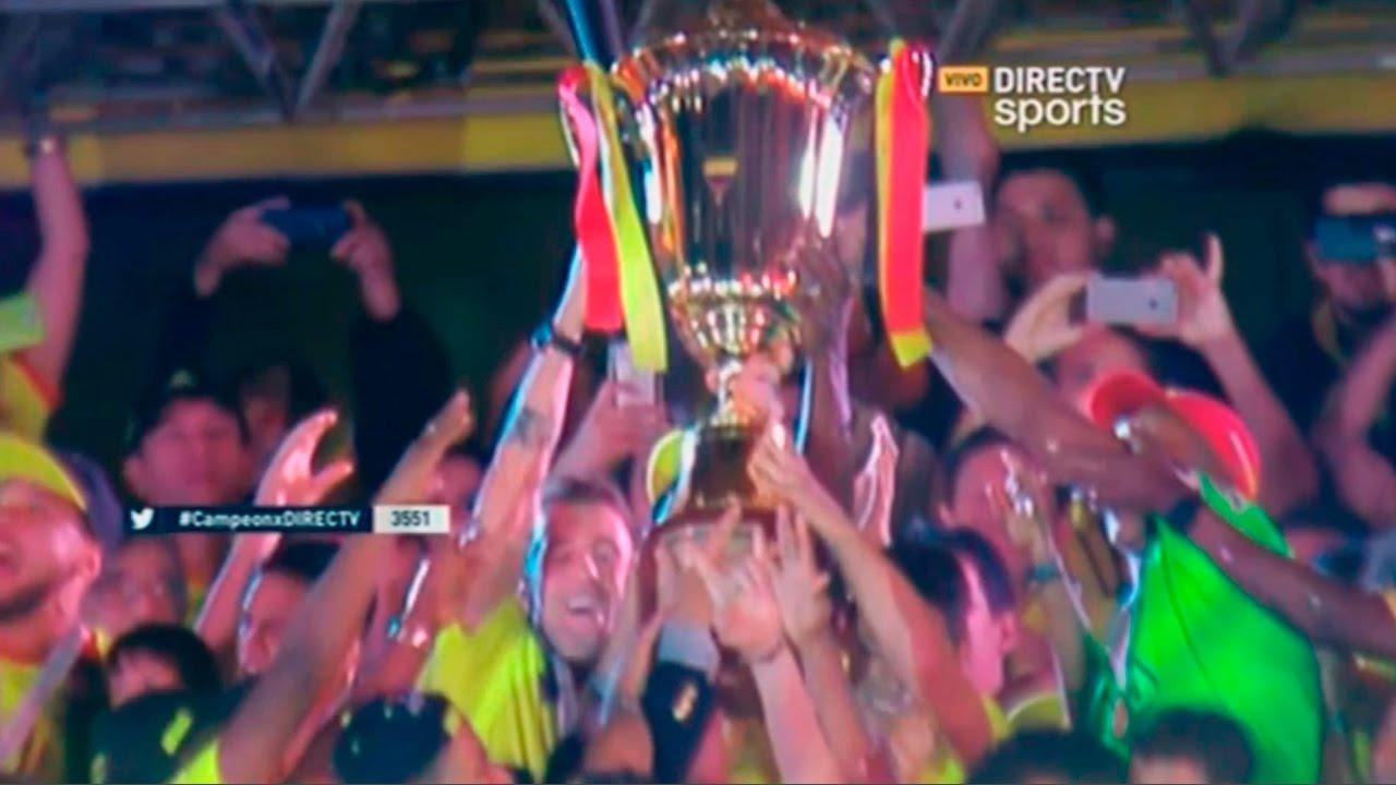 Premiacion, Celebracion, Vuelta Olimpica La Estrella 15 | Barcelona Campeón 2016 (10/12/2016) HD