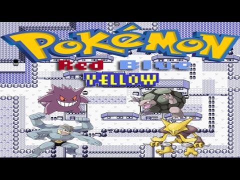 Pokemon Red/Blue/Yellow How To Catch Gengar-Golem-Machamp-Alakazam