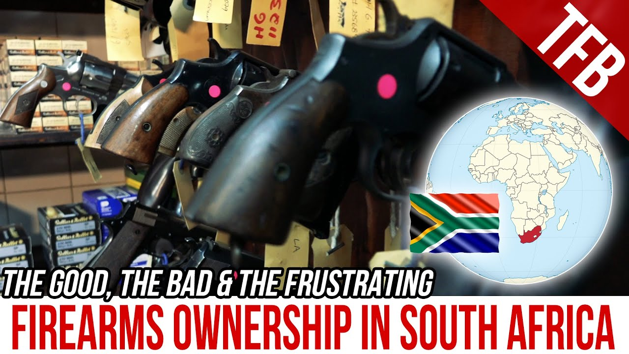 Buying Guns in South Africa: What it's Really Like
