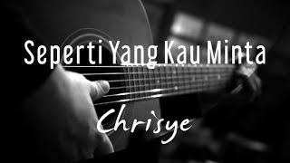 Seperti Yang Kau Minta - Chrisye ( Acoustic Karaoke )
