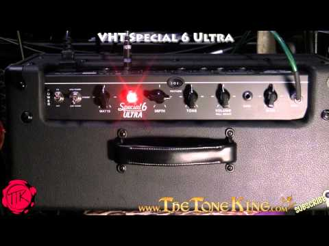 VHT Special 6 Ultra Demo & Review ~ Tube Amplifier Amp