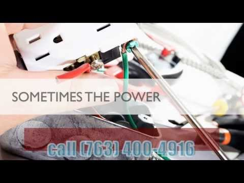 24 Hour Emergency Electrician Minneapolis MN call (763) 400-4916