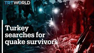 Turkey Searches For Quake Survivors