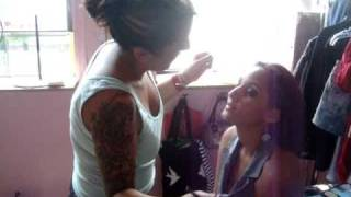 Maria on Make up for Treats and Threads NYC shoot Thumbnail