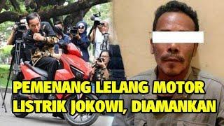 Pemenang Lelang Motor Listrik Jokowi Rp 2,5 Miliar Diamankan Polisi