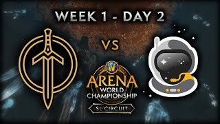 Golden Guardians vs Spacestation Gaming | Week 1 - Day 2 | AWC SL Circuit