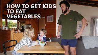 HOW TO GET KIDS TO EAT VEGETABLES thumbnail