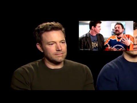 Ben Affleck Reacts to Ralph Garman's  of BVS
