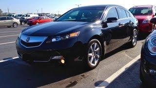 2012 Acura TL 3.5L Start Up, Quick Tour, & Rev With Exhaust View - 11K