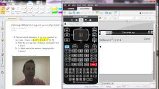 Gambar cover Lesson 1 Math - Using define on the CAS calculator