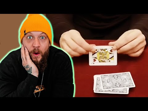 Completely FOOLED by EXPERT Sleight of Hand!!