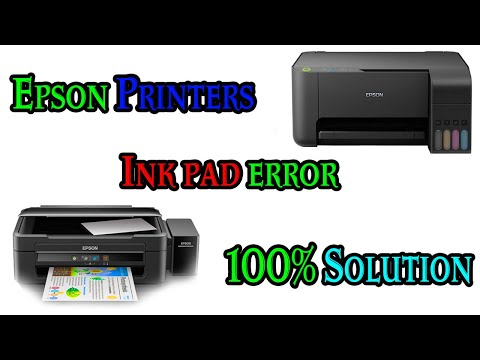 A Printers Ink Tank Is Near To End Of It`s Service Life, Please Contact Epson Support How To Solve .