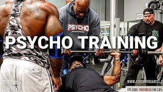 PSYCHO CHEST TRAINING WITH MIKE RASHID/ MAC TRUCC/ BIG BOY