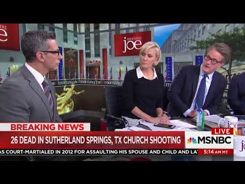 Video: MSNBC 'Morning Joe' Hosts - 'If a Guy Named Muhammad Blew Up That Church'