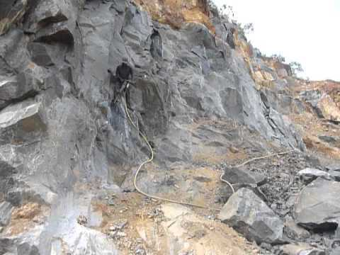 Sri  Lanka,ශ්රී ලංකා,Ceylon, Quarry,Jackhammer at Namunukula
