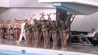Чемпионат г. Москвы по синхронному плаванию HD