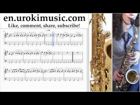 How to Play Saxophone (Alto) Lukas Graham - 7 Years Tabs Part#2 um-i352