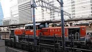 2017/06/10 稲沢貨物線 2084レ DD51-825 名古屋駅