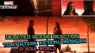 Tony Stark Ketemu Morgan Di Soul World Reaction - Avengers Endgame Deleted Scene