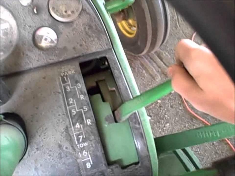 john deere 4020 diesel drive  YouTube