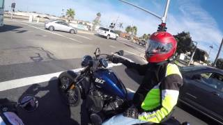 Check out the New Ride! Yamaha FZ-07 goes to the Cruiser Side.