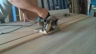 Guia/Régua para corte com serra circula...