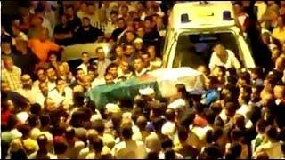 جيجل : لحظة وصول جثمان مروان دحماني إلى بيته  وتشييع جثمانه في جو جنائزي مهيب