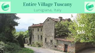 Village in Tuscany for Sale AZ Italian Properties | Properties Lunigiana | House for Sale Lunigiana