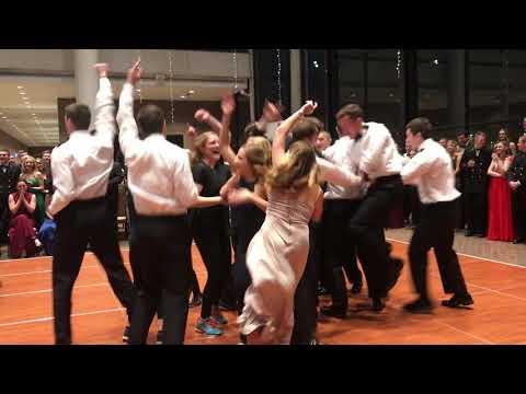 ND Navy Ball '17 Bravo Company Freshman Dance
