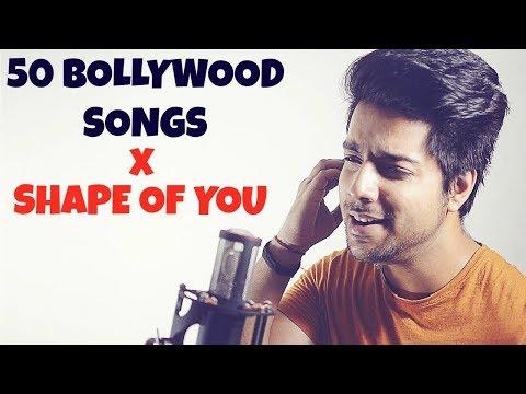 50 bollywood songs on one beat  mashup cover. siddharth slathia love